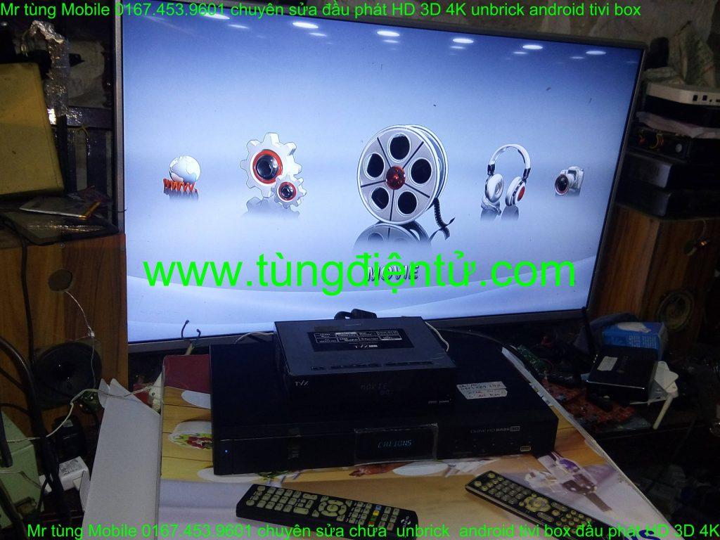 sửa chữa đầu phát hd tvix slim s1 không lên nguồn www.tungdientu.com mobile 0167.453.9601