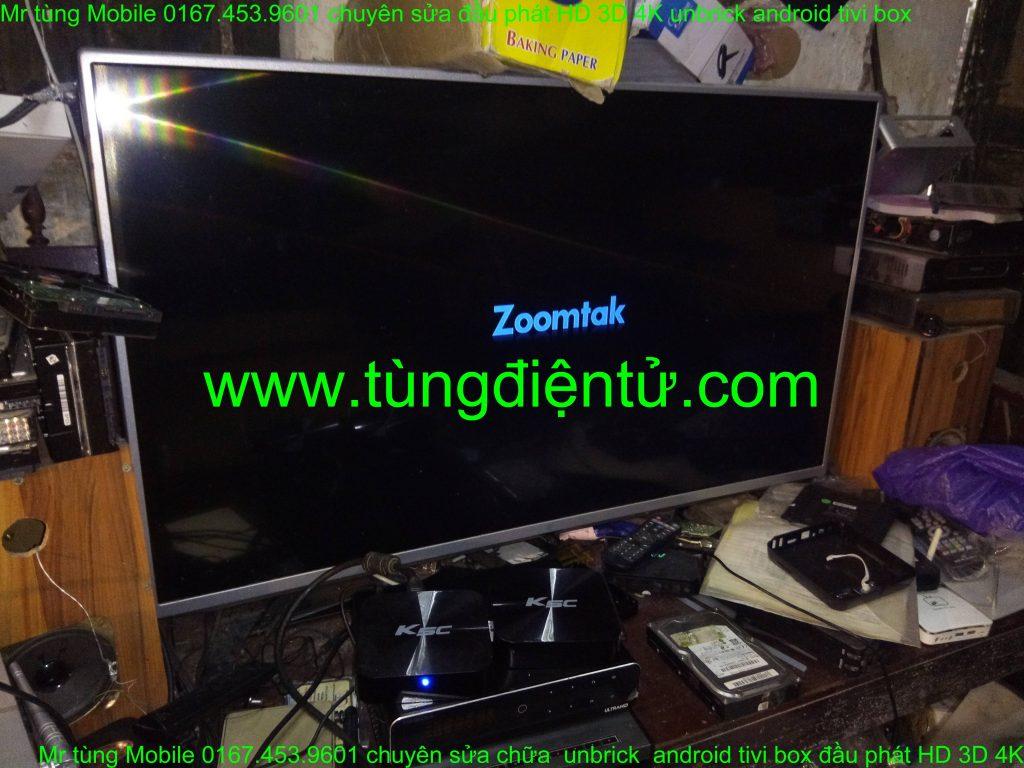 sửa chữa android box zoomstak K5C treo logo không lên nguồn www.tùngđiệntử.com mobile 0167.453.9601